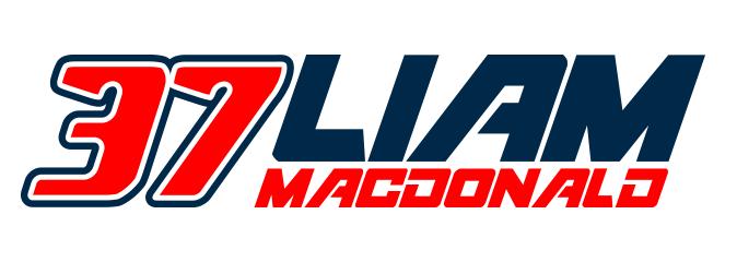 Liam Macdonald #37 Motorcycle Road Racer
